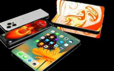 iPhone折叠屏概念手机,能够承受30万次的折叠