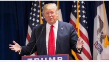 美国总统特朗普本表示华为是一个安全风险一个安全隐患