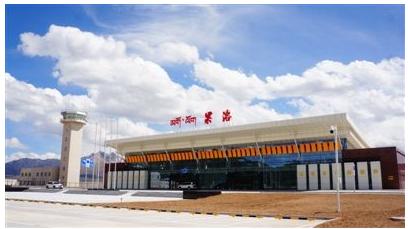 果洛移动携手华为在果洛高原机场成功开通了5G网络服务