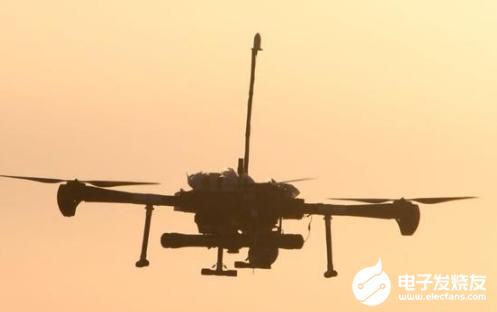 小型察打一体无人机完成空地打靶试验 达到了预期的试验效果