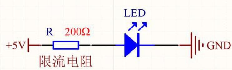 6颗白光LED灯珠的点亮方法