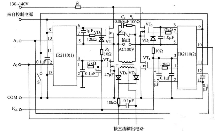 逆變電路的分類_常用DC-AC逆變電路