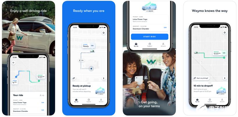 Waymo推iOS版自动驾驶服务,iPhone用户可直接呼叫自动驾驶出租车