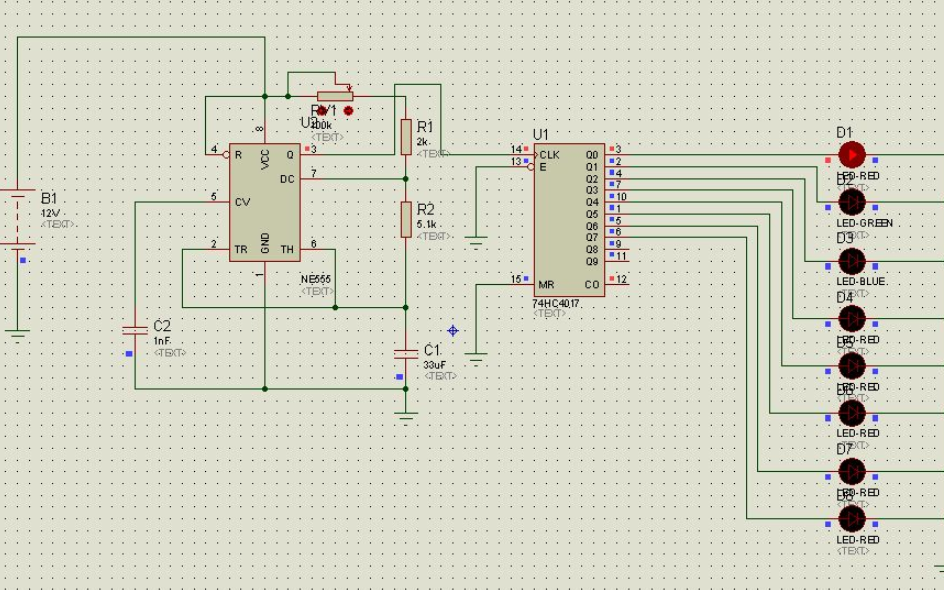 LED流水灯与变量的移位教程详细说明