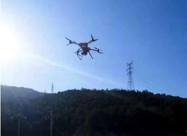 冀北地區首次220千伏輸電線路實現無人機自主機巡