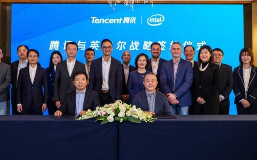 英特尔与腾讯合作智慧教育领域,一起推出教育学习电脑
