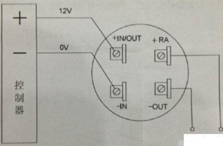 四根线的烟感探测器怎样接线