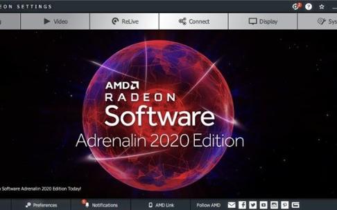 AMD的腎上腺素2020驅動,新增的Radeon...