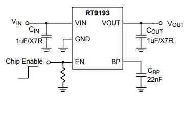 RT9193超低噪声超高速CMOS LDO稳压器的数据手册免费下载