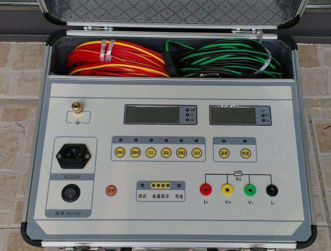 變壓器直流電阻測試儀的測量方法與步驟