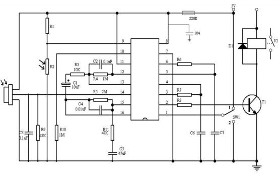 BISS0001传感器的数据和电路说明