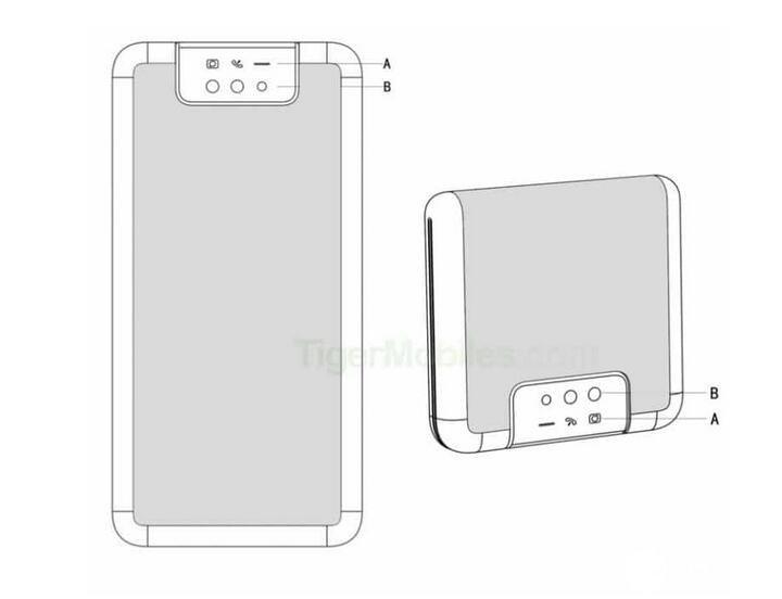 小米新可折叠屏手机设计专利曝光,采用正面全面屏和后置三摄设计