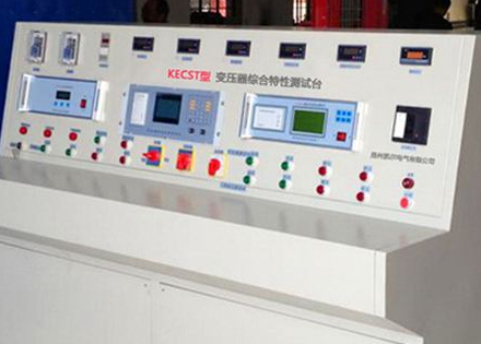 变压器特性综合测试台的特点与工作条件