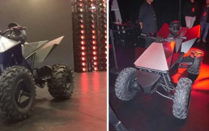 特斯拉2021年下半年推电动ATV,或许还有电动越野摩托车