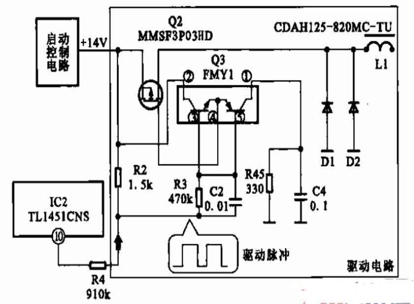 逆变器的驱动电路图