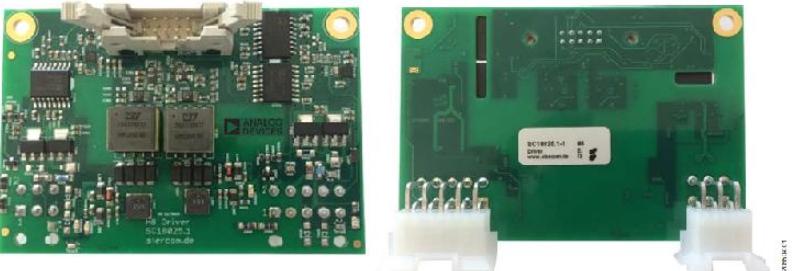 使用ADuM4136隔离式栅极驱动器和LT3999 DC/DC转换器驱动1200V SiC电源模块