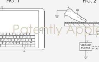苹果新专利表明,触摸屏也可以实现实体键盘体验