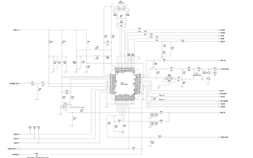 LG-U8550手机的原厂维修图纸及主板结构图与电路原理图免费下载