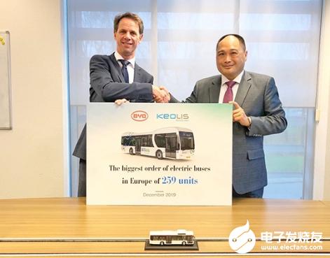 比亞迪與Keolis簽署協議 獲得歐洲259輛純電動大巴訂單