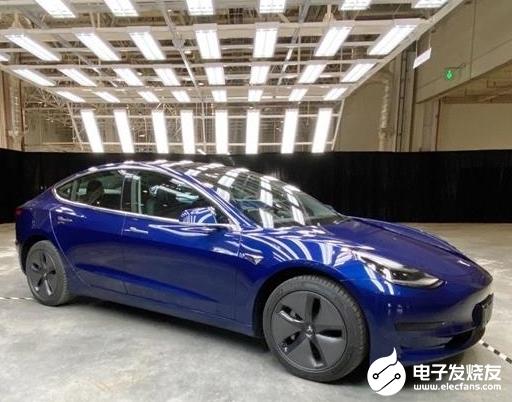 """特斯拉开始攒""""库存""""了 预计首批国产Model 3能够交付数千辆左右"""