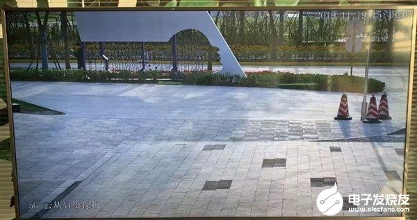 华为5G CPE Win室外视频监控孵化成功