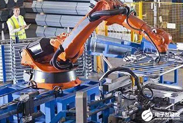 随着制造走进智能化与互联化 工业机器人也得到了长足的发展
