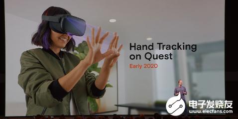 Oculus Quest推出手部追踪功能 用户无...