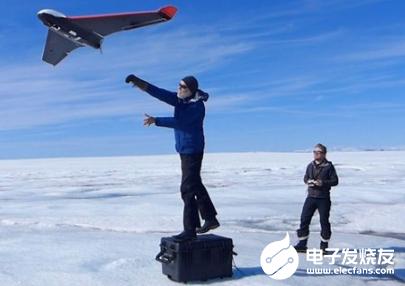 剑桥大学设计了一种新型无人机 专为抵御极端北极环境而定制