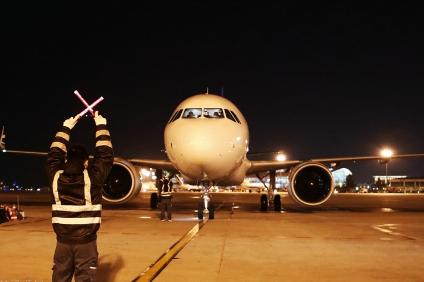 青岛航空正式迎来了第五架全新的空客A320客机