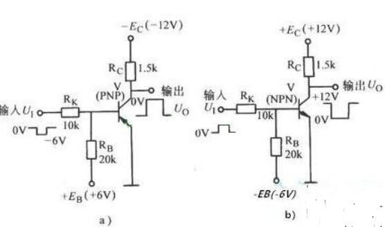 三极管如何实现反相器