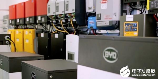 比亚迪宣布电池产能增加10倍计划 将进一步巩固在储能市场的地位