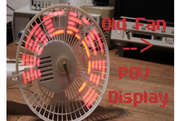 设计一个LED显字电风扇的资料说明和工程文件免费下载