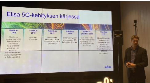 芬蘭電信運營商Elisa已在塞伊奈約基市成功開通了5G網絡服務