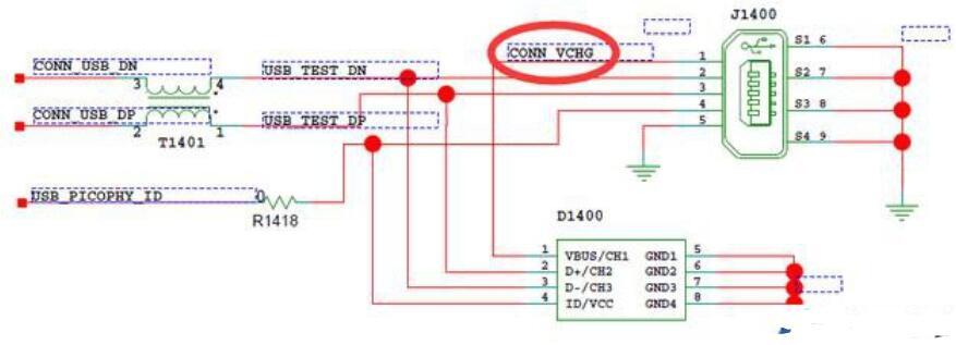 手机内部充电电流控制原理图
