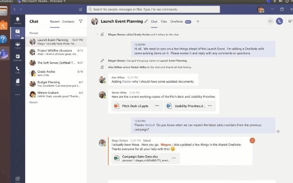 Linux上可以使用微软Microsoft Teams了