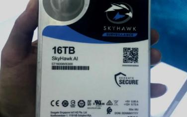 希捷推出全球首个最大16TB容量的安防硬盘