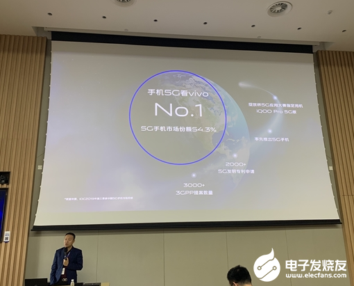 vivo中国5G手机市场份额占据第一 全面拥抱5...