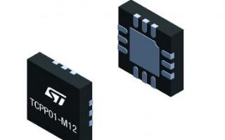 意法半導體Type-C端口保護IC可簡化數據線升...