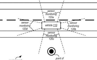 苹果的嵌入式传感器申请专利,有助于自动驾驶研发