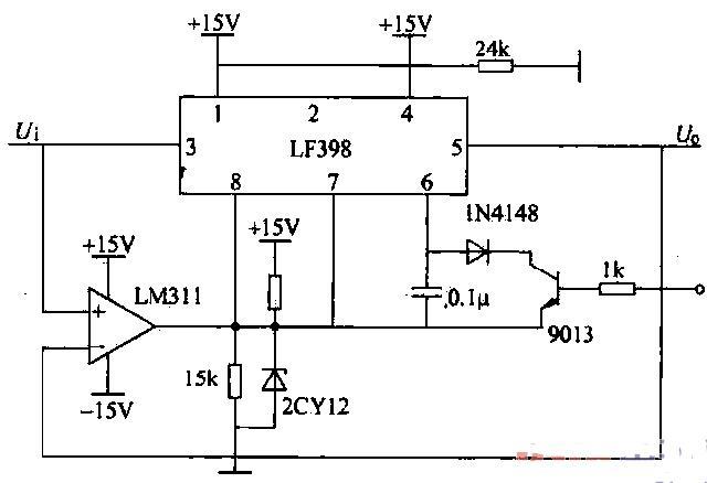 峰值电压采样保持电路