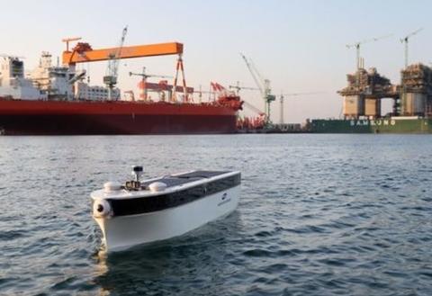 三星重工与SK电讯共同开展了5G远程控制自动航行实验