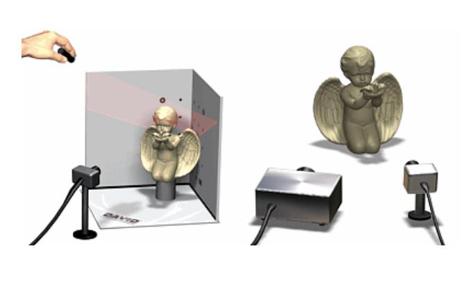 DAVID 3D激光扫描仪的中文使用说明书免费下载