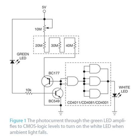 基于一种可以适应任何光强度而设计的高功率LED开关电路设计