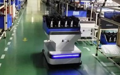 明电舍与发那科开发移动机器人,拥有多种导航方式