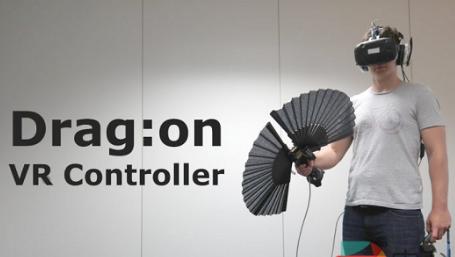 新发明的VR控制器将为VR带来重量感体验