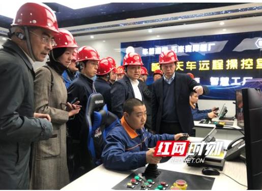 湖南移动和华为合作打造出了全国首家钢铁行业5G智...