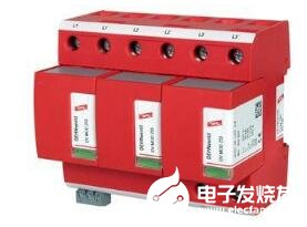 如何减少并联防雷器的电感性电压
