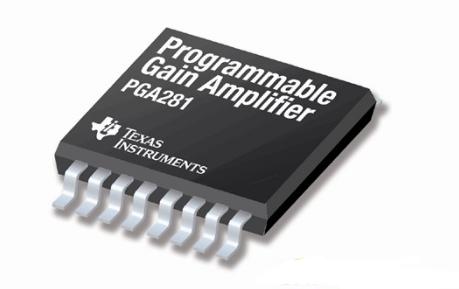 德州仪器推出高精度的全差动可编程增益放大器