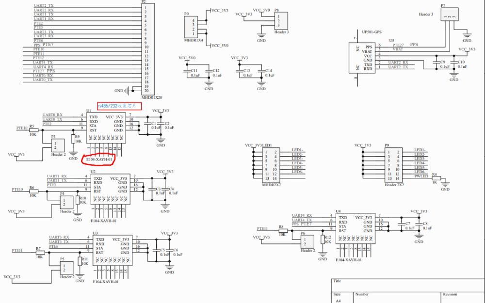 蓝牙接收板的电路原理图免费下载