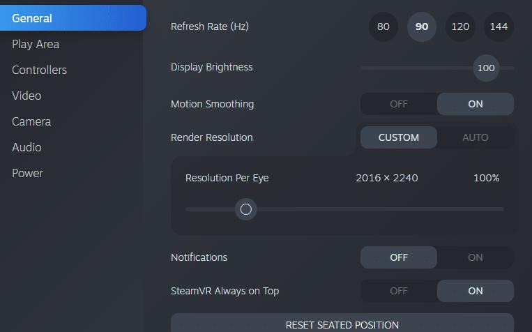 SteamVR最新测试版现可直接改变Valve ...